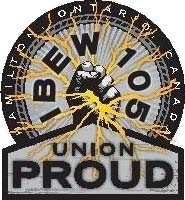 IBEW 105 Union Proud