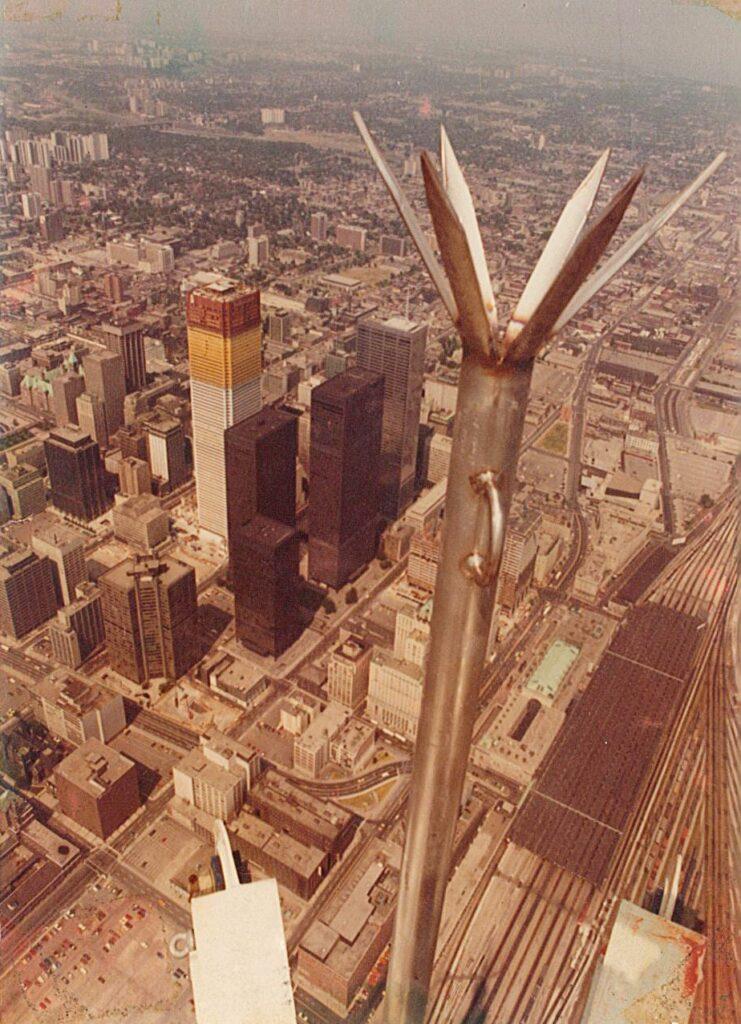 CN Tower Lightning Rod