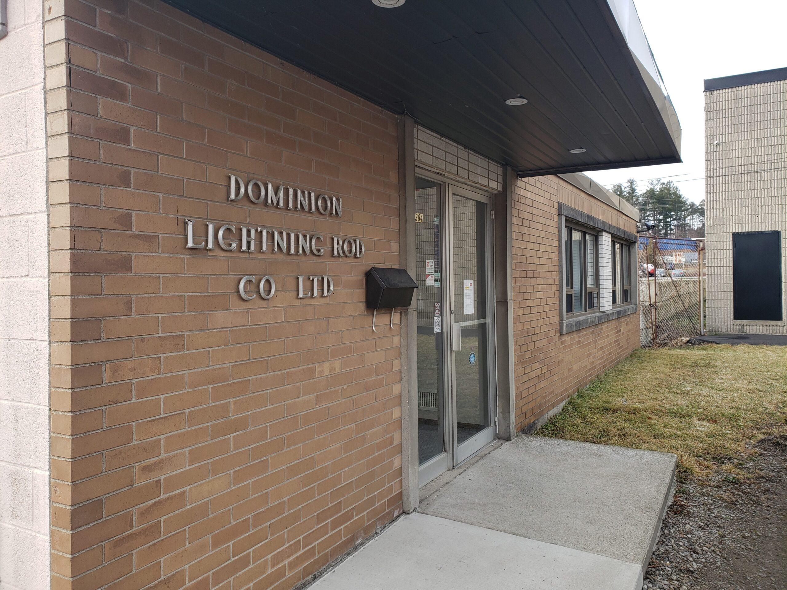 Dominion Lightning Rod in Dundas
