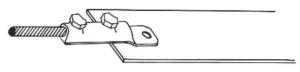 BF5B Bronze Mini Bonding Lug