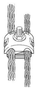 BM100 Bimetallic Round to Round Fitting