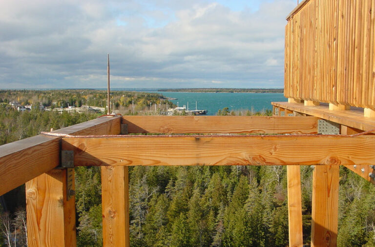 Bruce Observation Tower lightning protection