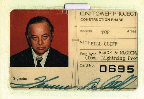 Bill Cliff CN Tower ID